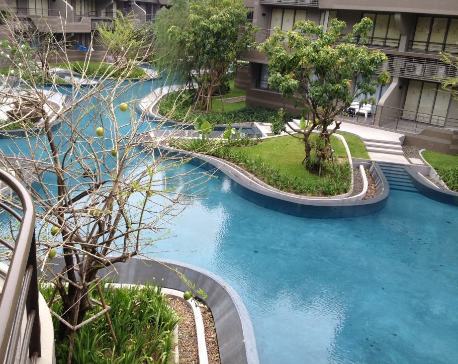 Baan San Ngam Huahin - For Sale 1 Bed Condo in Cha Am, Phetchaburi, Thailand | Ref. TH-LXAETMJV