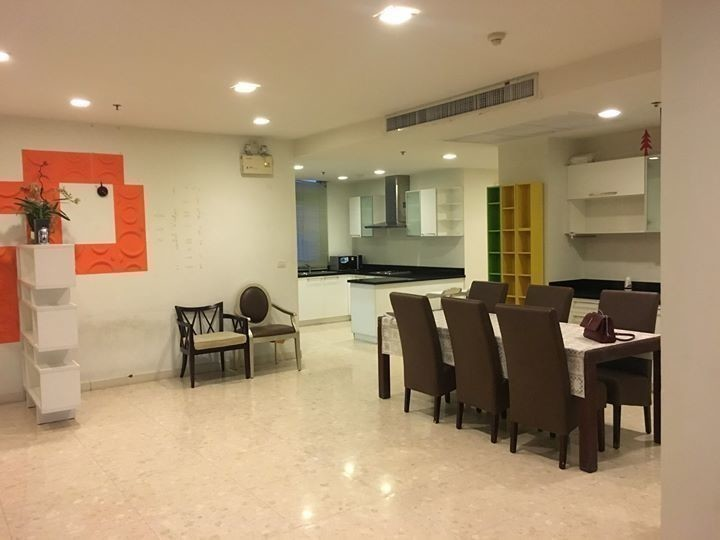 Nusasiri Grand - For Rent 3 Beds Condo Near BTS Ekkamai, Bangkok, Thailand | Ref. TH-ZRPBJQBV