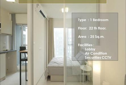 В аренду: Кондо c 1 спальней в районе Mueang Nonthaburi, Nonthaburi, Таиланд
