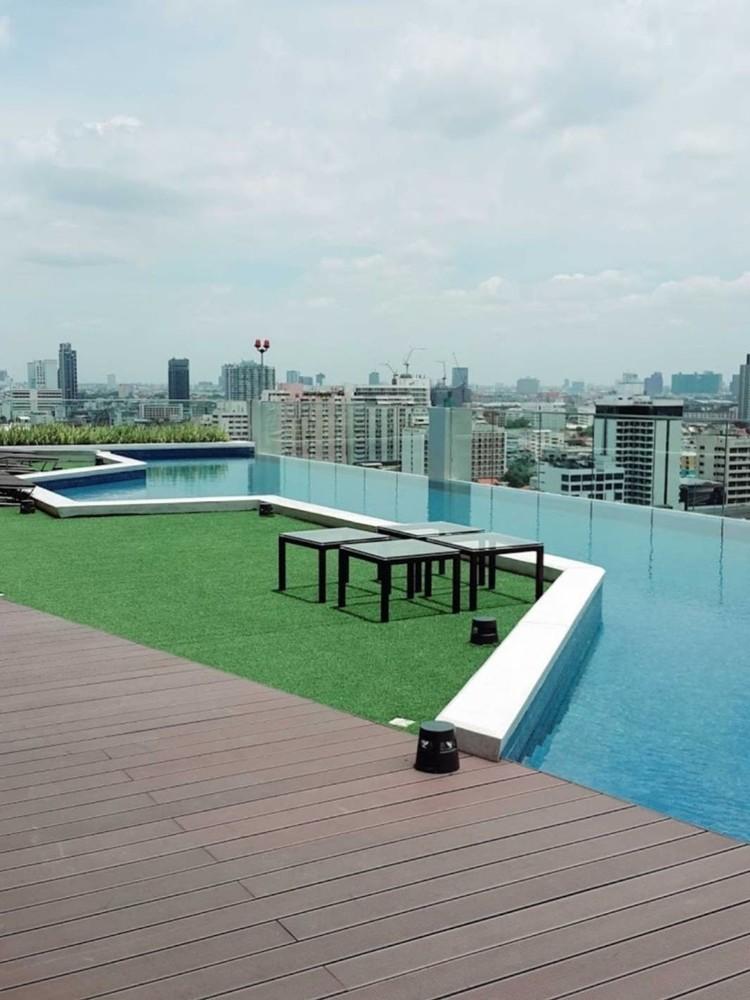 Fuse Miti Sutthisan - Ratchada - For Sale 1 Bed コンド in Din Daeng, Bangkok, Thailand | Ref. TH-UCHNNIGM