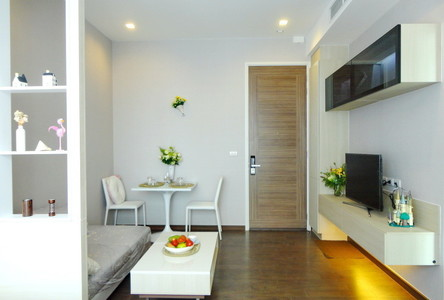 For Rent Condo 32 sqm Near MRT Phetchaburi, Bangkok, Thailand