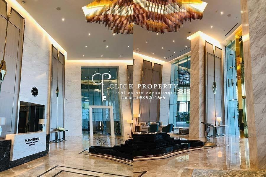 Magnolias Waterfront Residences - For Sale 2 Beds Condo in Khlong San, Bangkok, Thailand | Ref. TH-FDKZNRLF