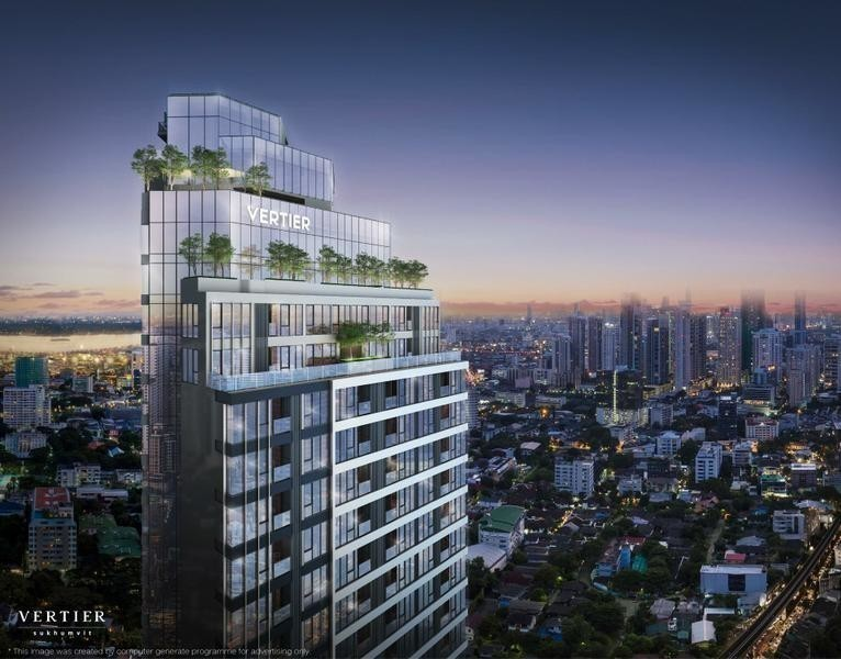 Vertier Sukhumvit - For Sale 1 Bed Condo Near BTS Phra Khanong, Bangkok, Thailand | Ref. TH-YETYCAIK