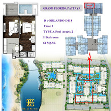 Located in the same area - Grand Florida Beachfront Condo Resort Pattaya
