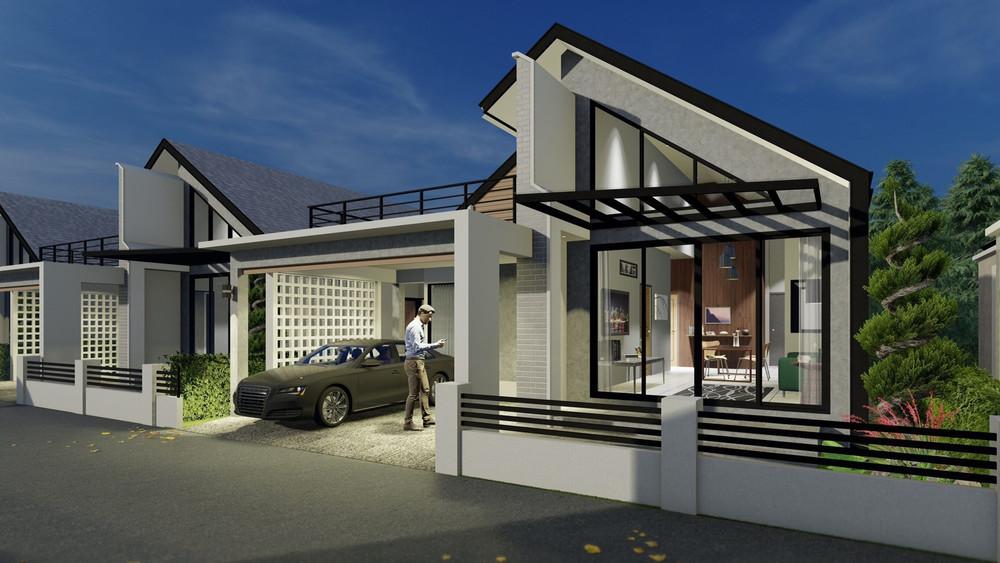 ขาย บ้านเดี่ยว 3 ห้องนอน สารภี เชียงใหม่   Ref. TH-BASKNFRP