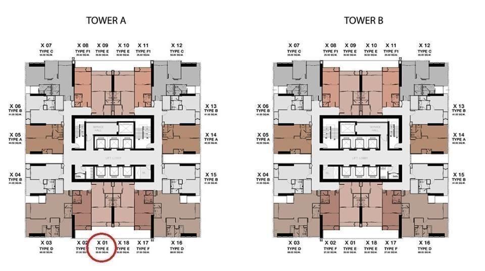 One 9 Five Asoke - Rama 9 - For Sale 1 Bed Condo Near MRT Phraram Kao 9, Bangkok, Thailand | Ref. TH-ETFIGVTE