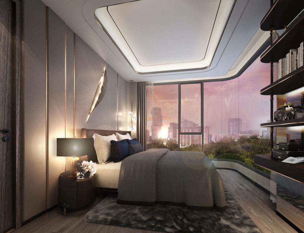SYMYS Sukhumvit 61 - For Sale 2 Beds Condo in Watthana, Bangkok, Thailand | Ref. TH-KWSPJGMV