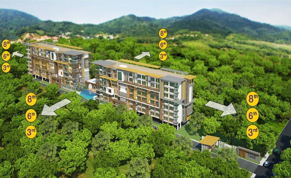 For Sale or Rent 1 Bed コンド in Kathu, Phuket, Thailand   Ref. TH-KFDQDTIO