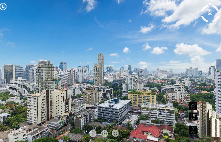 Noble Around 33 - For Sale 1 Bed Condo Near BTS Phrom Phong, Bangkok, Thailand | Ref. TH-ZTMBMGKZ