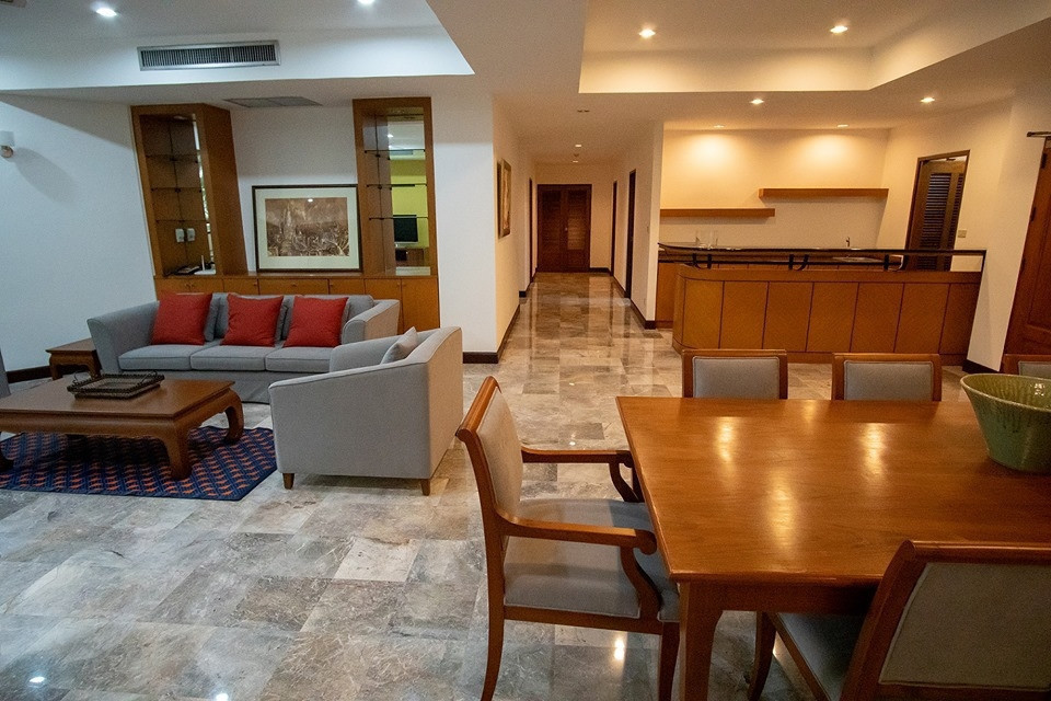 Raintree Village Apartment - For Rent 3 Beds Condo Near BTS Phrom Phong, Bangkok, Thailand | Ref. TH-HCIYCILM