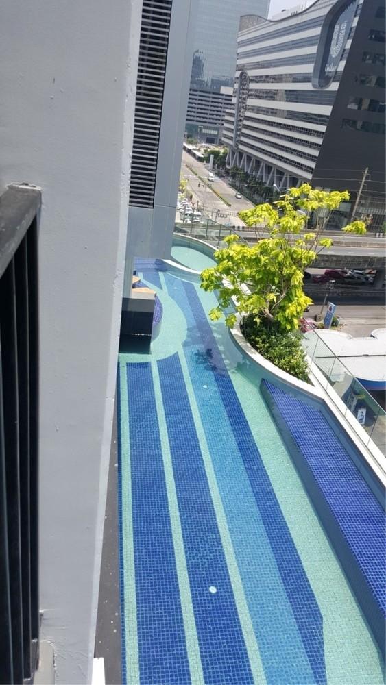 Condolette Midst Rama 9 - For Sale 1 Bed Condo Near MRT Phetchaburi, Bangkok, Thailand | Ref. TH-LPSABOMU