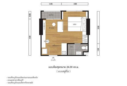 For Sale Condo 24 sqm in Chatuchak, Bangkok, Thailand