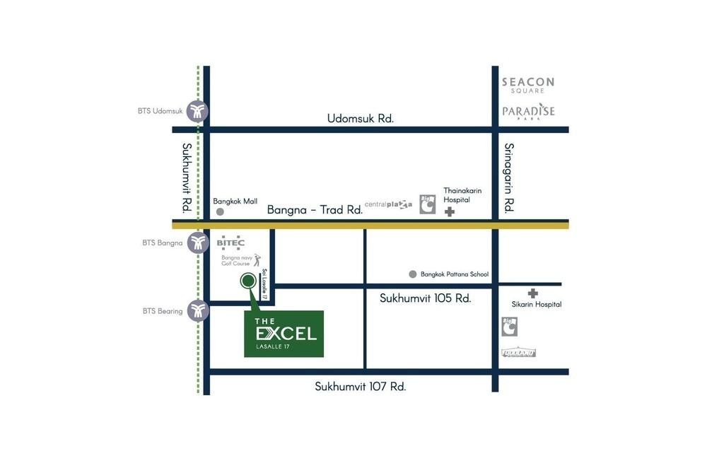 The Excel Lasalle 17 - For Sale 2 Beds Condo Near BTS Ekkamai, Bangkok, Thailand   Ref. TH-MFFCHSCC