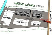 For Rent Warehouse 866 sqm in Ban Khai, Rayong, Thailand