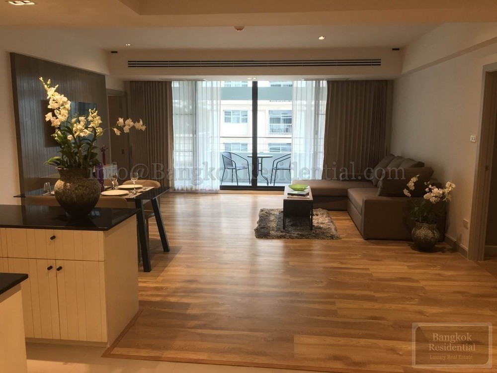 Villa Bajaj - For Rent 2 Beds Condo Near MRT Sukhumvit, Bangkok, Thailand | Ref. TH-YYXXBDUH