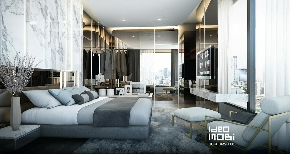 IDEO Mobi Sukhumvit 66 - For Rent 1 Bed Condo Near BTS Udom Suk, Bangkok, Thailand | Ref. TH-BUHHMKFI