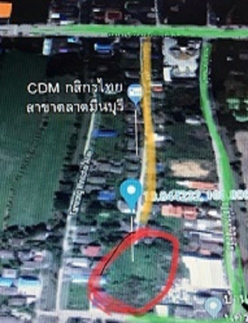 For Sale Land 1-3-40 rai in Min Buri, Bangkok, Thailand | Ref. TH-EXRYRCDE
