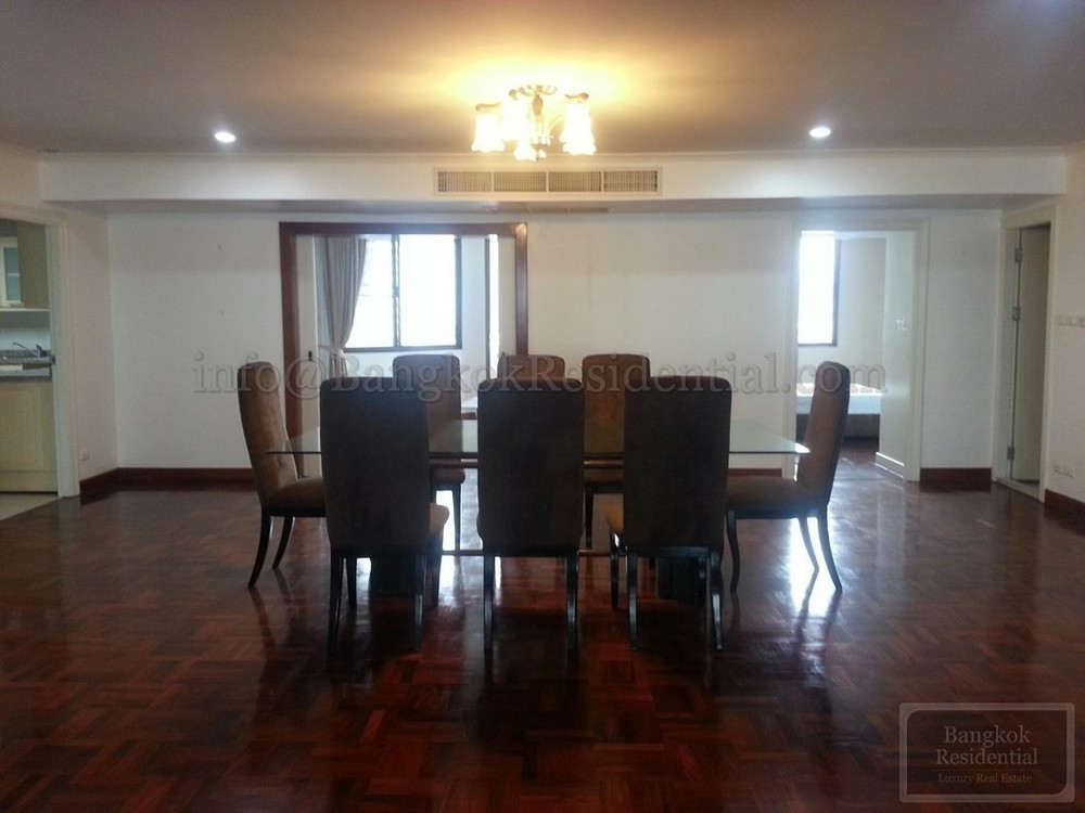 Belair Mansion - For Rent 3 Beds Condo Near MRT Sukhumvit, Bangkok, Thailand | Ref. TH-QXZOLXLS