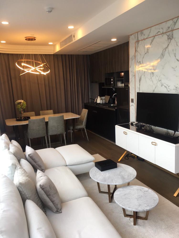 Ashton Chula - Silom - For Rent 2 Beds Condo Near MRT Sam Yan, Bangkok, Thailand   Ref. TH-PJUHCBZF
