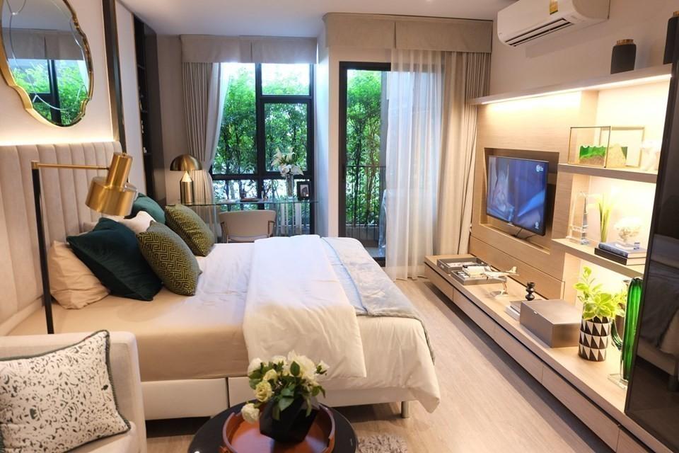 RHYTHM Ekkamai - В аренду: Кондо c 1 спальней возле станции BTS Ekkamai, Bangkok, Таиланд | Ref. TH-AXHVQZAN