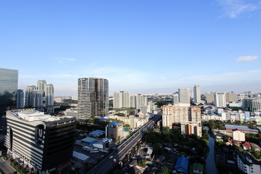 Condolette Midst Rama 9 - For Sale or Rent 1 Bed Condo Near MRT Phetchaburi, Bangkok, Thailand | Ref. TH-UAPSSJJB