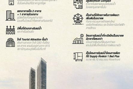 For Sale Condo 25.1 sqm in Khlong San, Bangkok, Thailand