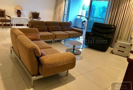 For Rent 3 Beds Condo Near MRT Phetchaburi, Bangkok, Thailand