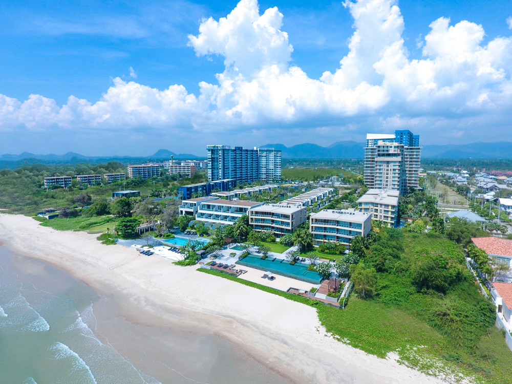 Baan Thew Talay Blue Sapphire - For Sale 1 Bed Condo in Cha Am, Phetchaburi, Thailand | Ref. TH-XXEWHMJS