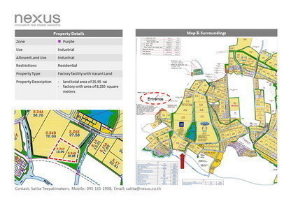 For Sale Warehouse 8,250 sqm in Pluak Daeng, Rayong, Thailand | Ref. TH-NFUDLGIL