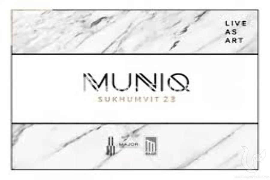 MUNIQ Sukhumvit 23 - For Sale 1 Bed Condo Near MRT Sukhumvit, Bangkok, Thailand   Ref. TH-IQPPRDTF
