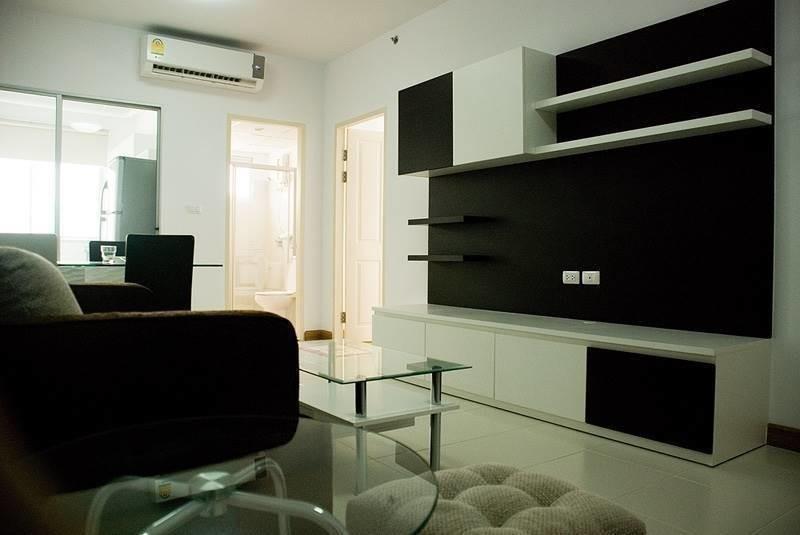 Supalai Park Asoke - Ratchada - В аренду: Кондо с 2 спальнями возле станции MRT Phraram Kao 9, Bangkok, Таиланд   Ref. TH-JVNWWZDQ