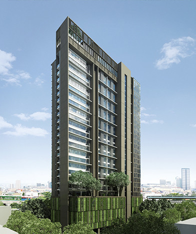 The Lofts Ekkamai - Продажа или аренда: Кондо c 1 спальней возле станции BTS Ekkamai, Bangkok, Таиланд | Ref. TH-EGJULYSX