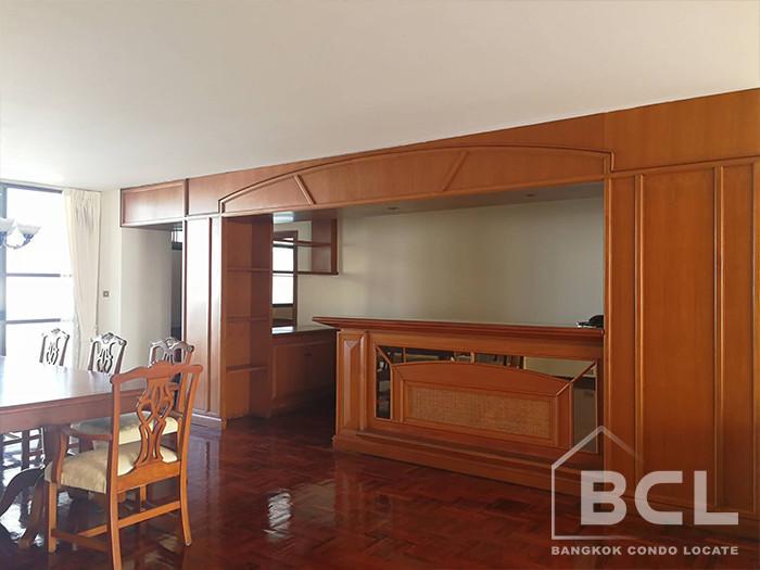Sriratana Mansion 1 - В аренду: Кондо с 3 спальнями возле станции BTS Asok, Bangkok, Таиланд | Ref. TH-OSEJBAZV
