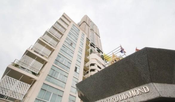 เดอะ วอเตอร์ฟอร์ด ไดมอน - ขาย หรือ เช่า คอนโด 2 ห้องนอน ติด BTS พร้อมพงษ์ | Ref. TH-NELFBVDR