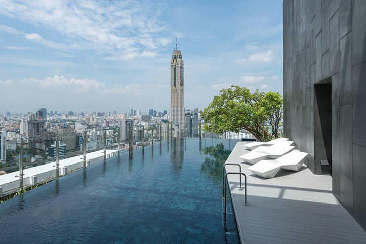 Ideo Q Siam - Ratchathewi - For Sale or Rent 2 Beds コンド Near BTS Phaya Thai, Bangkok, Thailand | Ref. TH-BTPVBQPY