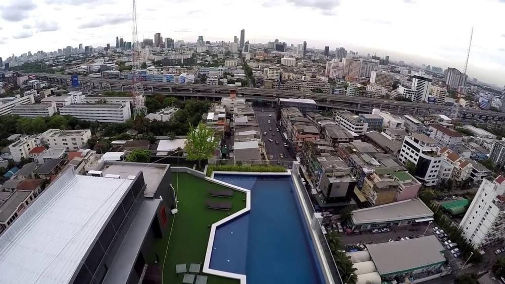Fuse Miti Sutthisan - Ratchada - For Sale or Rent 1 Bed コンド in Din Daeng, Bangkok, Thailand | Ref. TH-EJABKIHM