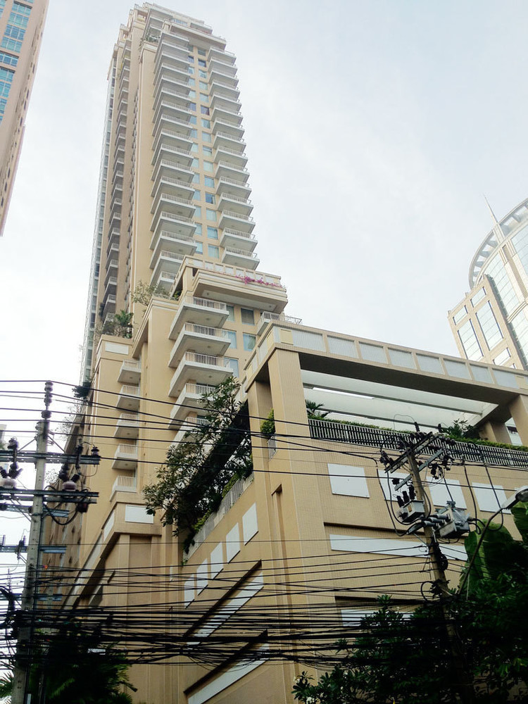 Langsuan Ville - For Sale or Rent 1 Bed Condo Near BTS Chit Lom, Bangkok, Thailand | Ref. TH-VMIEZUMC