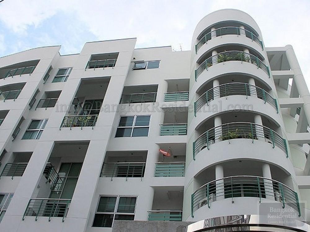 Baan Wannapa - For Rent 3 Beds Condo in Watthana, Bangkok, Thailand | Ref. TH-TNASQKEF