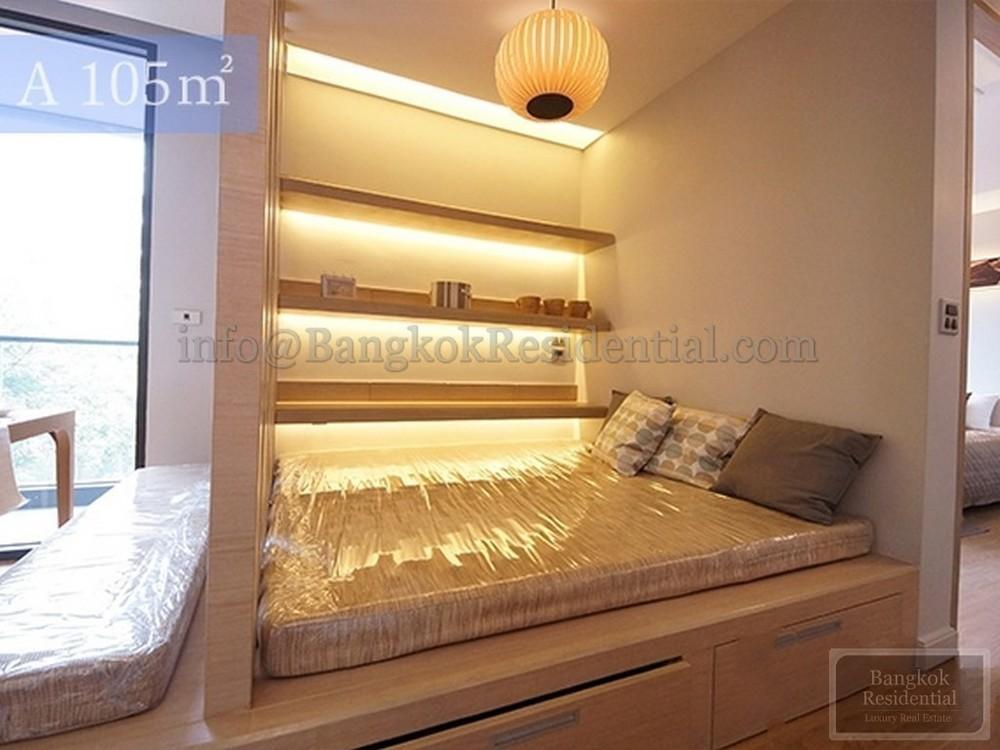 กีรธนา เรสซิเด็นซ์ - ให้เช่า คอนโด 2 ห้องนอน ติด BTS อโศก | Ref. TH-LSQNVSGG