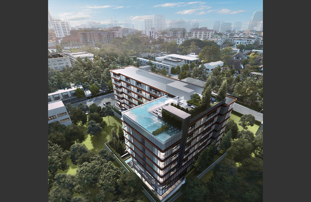SYMYS Sukhumvit 61 - For Sale 1 Bed Condo in Watthana, Bangkok, Thailand | Ref. TH-WOVCOYKG