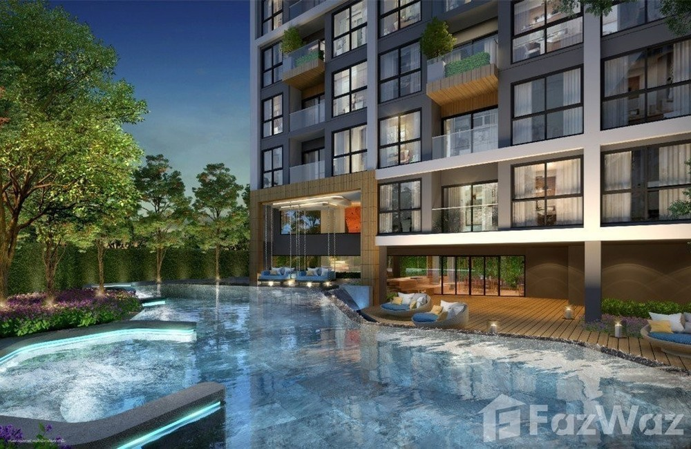The excel hideaway - For Sale Condo 25 sqm in Huai Khwang, Bangkok, Thailand | Ref. TH-EMSZPXET