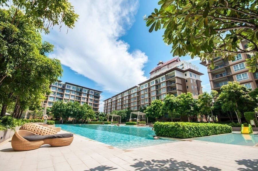 Baan Tew Lom - For Sale or Rent Condo 30 sqm in Cha Am, Phetchaburi, Thailand | Ref. TH-CIBXNLNS