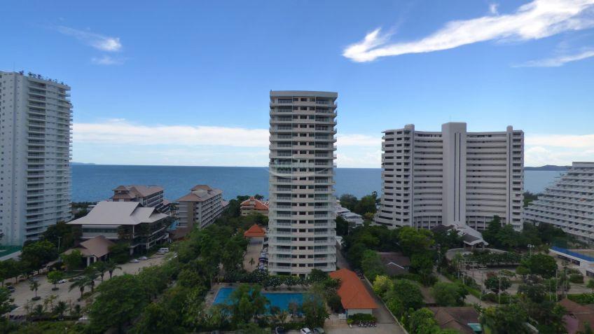 วิวทะเล 5 - ขาย หรือ เช่า คอนโด 1 ห้องนอน บางละมุง ชลบุรี | Ref. TH-ZHMQLDXA