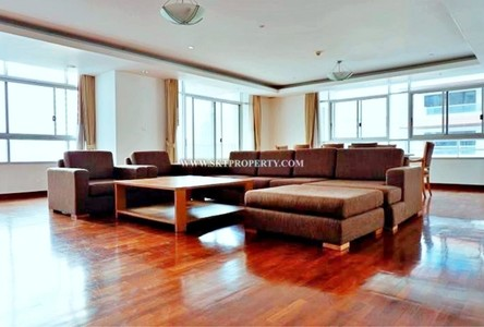 For Rent 3 Beds Condo Near MRT Sukhumvit, Bangkok, Thailand