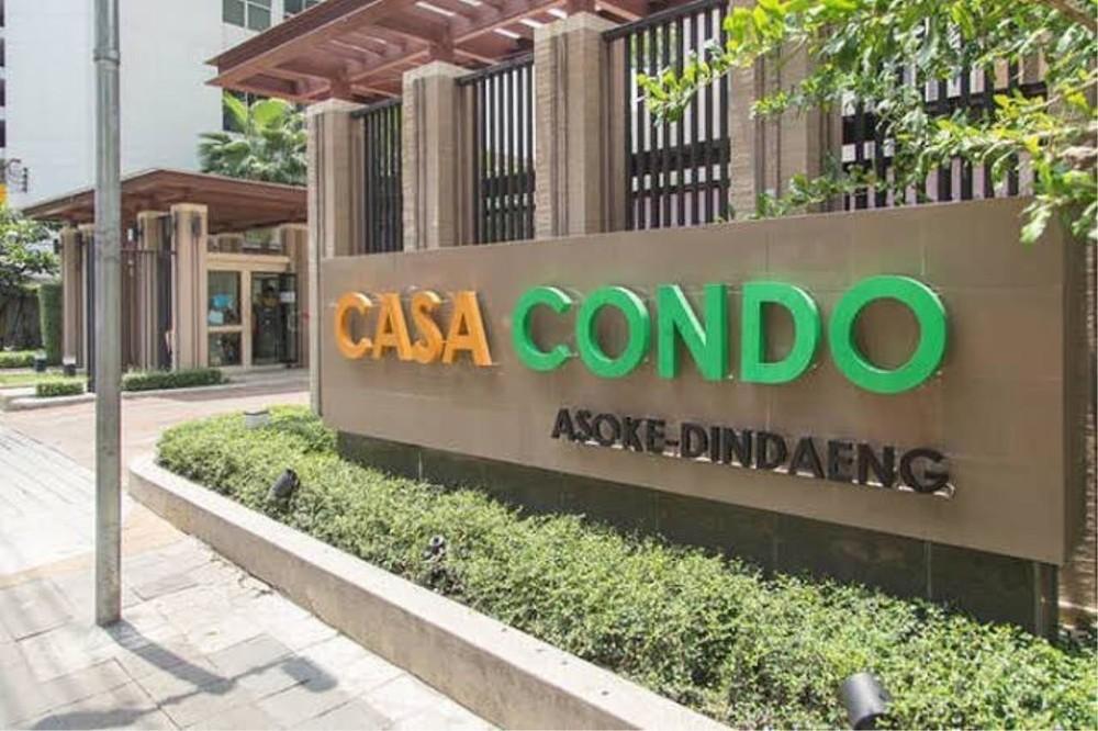 Casa Condo Asoke - Dindaeng - For Sale or Rent 1 Bed Condo in Din Daeng, Bangkok, Thailand | Ref. TH-OSOVRPWB