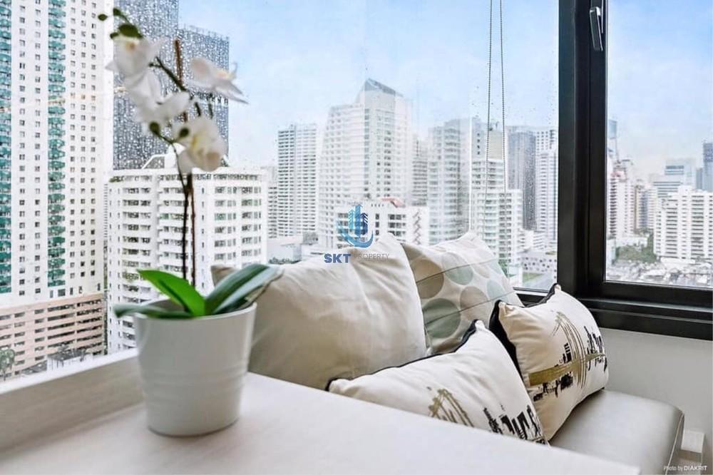 Edge Sukhumvit 23 - Продажа или аренда: Кондо c 1 спальней возле станции MRT Sukhumvit, Bangkok, Таиланд | Ref. TH-UHUMLZHX