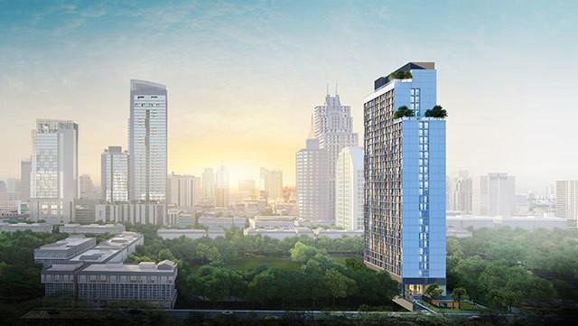 Noble Recole - Продажа: Кондо c 1 спальней возле станции MRT Sukhumvit, Bangkok, Таиланд | Ref. TH-QLTLYQAX