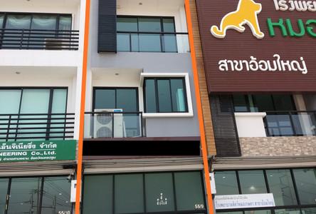 For Sale Shophouse 256 sqm in Sam Phran, Nakhon Pathom, Thailand