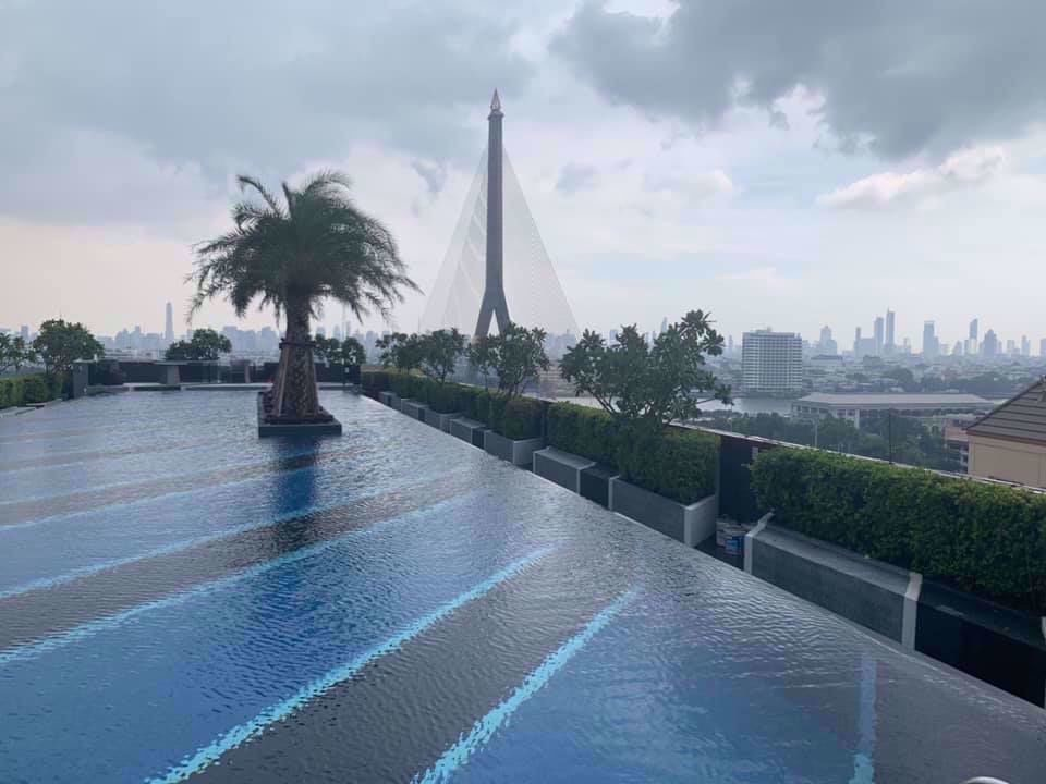 Chateau In Town Rama 8 - For Rent 1 Bed Condo in Bang Phlat, Bangkok, Thailand | Ref. TH-XQPVSBPE