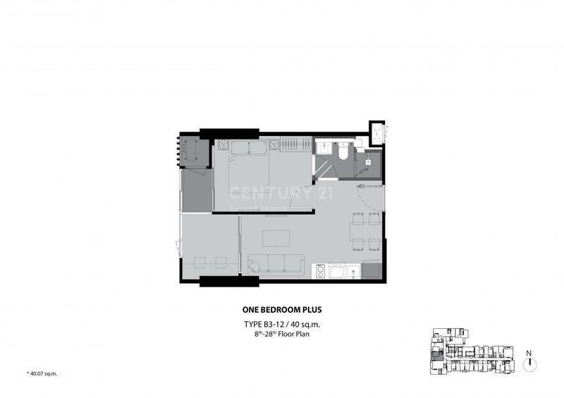 ริทึ่ม เอกมัย เอสเตท - ขาย คอนโด 1 ห้องนอน วัฒนา กรุงเทพฯ | Ref. TH-BNGDPRLF